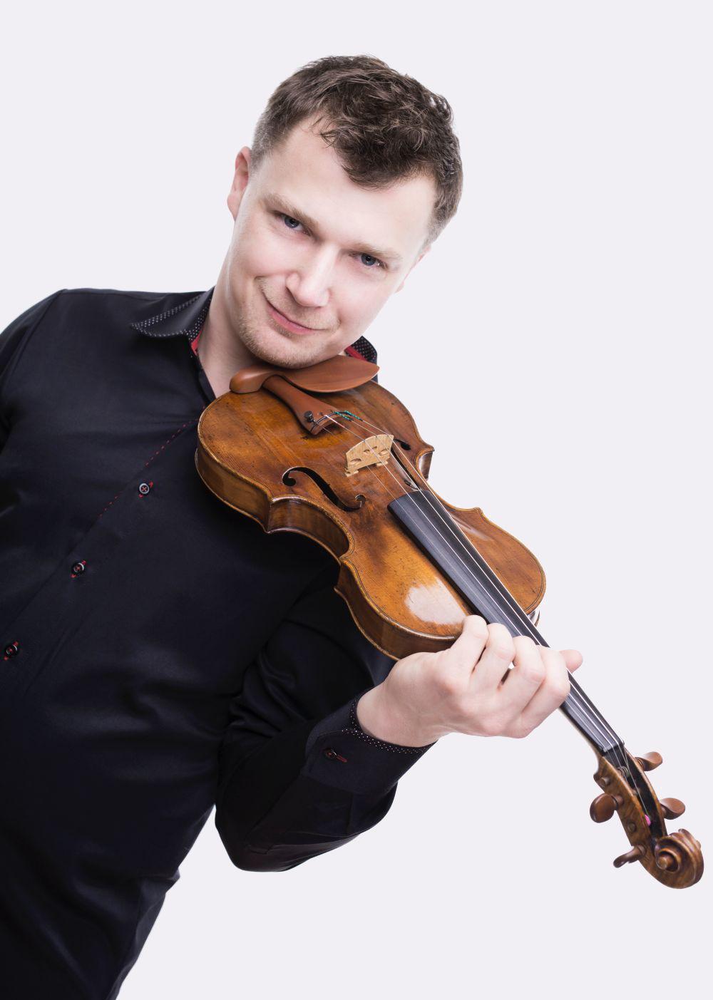 Jacek Ropski - skrzypek, doktor habilitowany sztuki- Biografia
