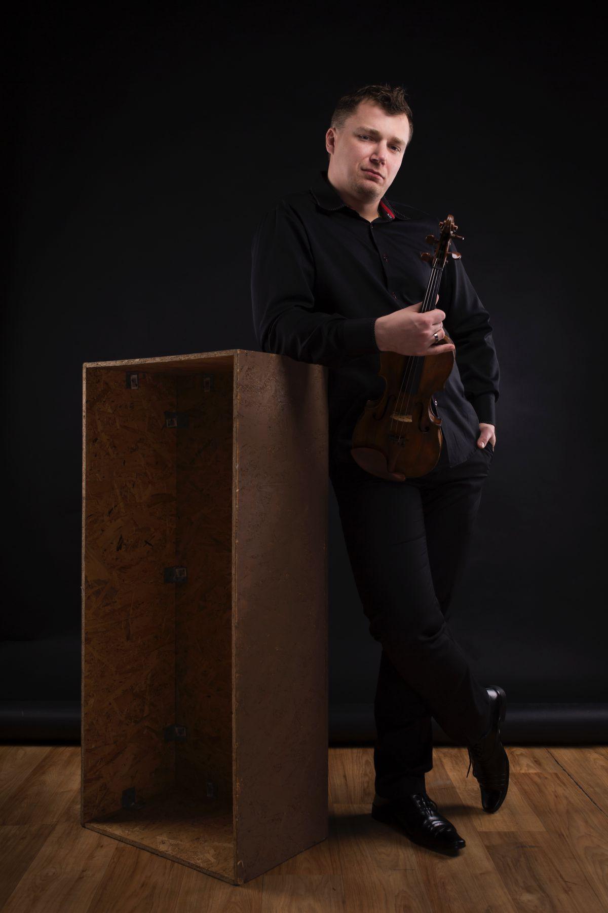 Jacek Ropski - skrzypek