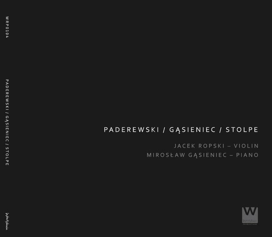 Jacek Ropski Publikacje Paderewski / Gąsieniec / Stolpe